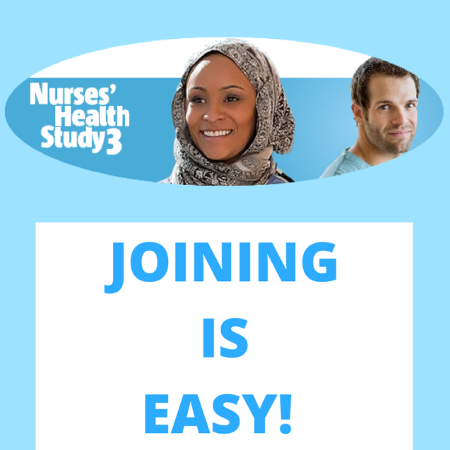 Nurses' Health Study 3 Seeks Volunteers