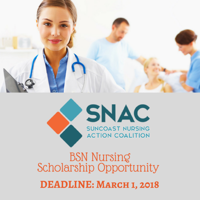 SNAC BSN Scholarship Opportunity