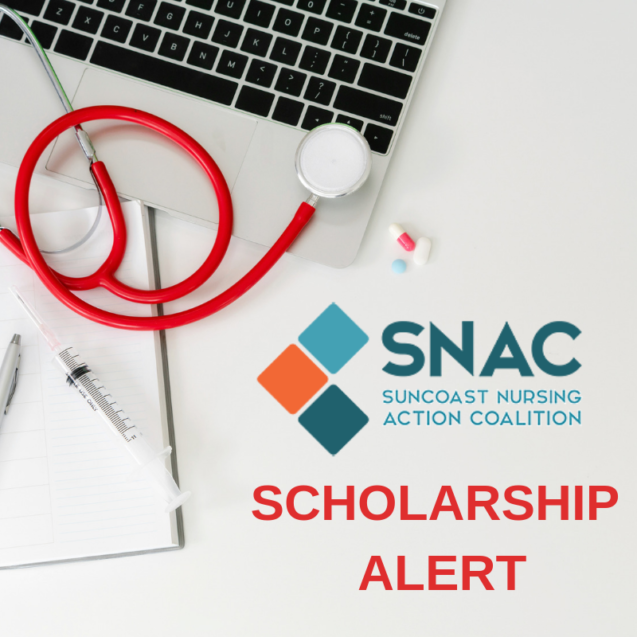 NEW 2019 SNAC BSN Scholarship Application / Deadline: March 1